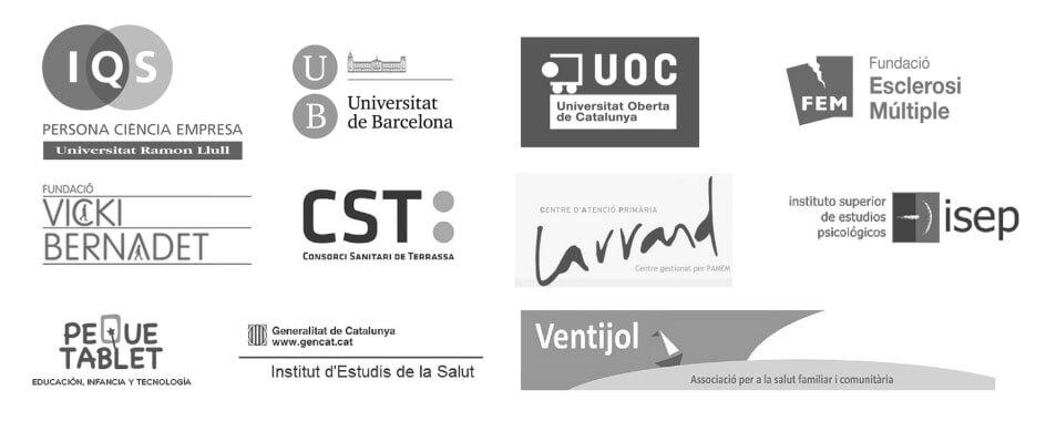 Logos entidades con las que colabora Patricia Maguet