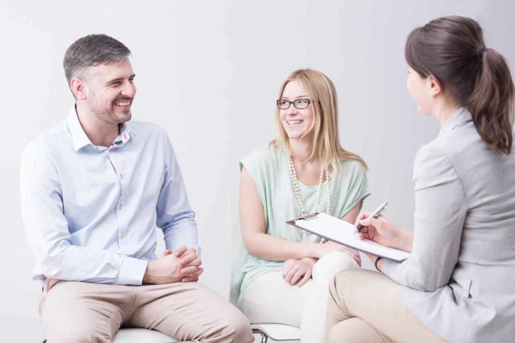 ejercicios de terapia de pareja